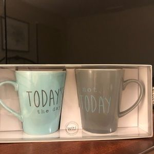 Other - Today, Not Today mug set